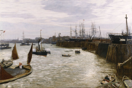Charles Napier Hemy 'Blackwall' :1872