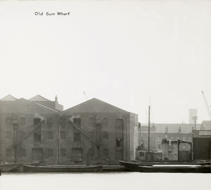 Thames Riverscape showing Old Sun Wharf: 1937