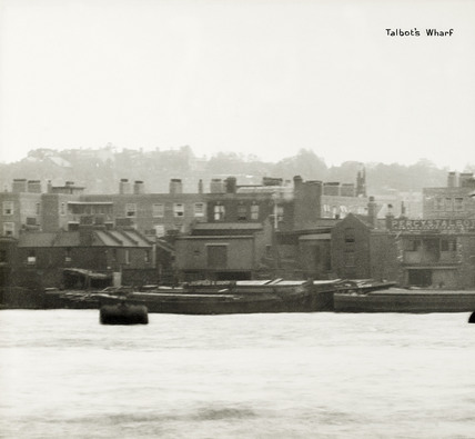 Thames Riverscape showing Talbot's Wharf: 1937