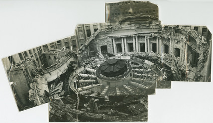 Damage to PLA Head Office, Tower Hill: 1940