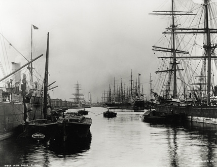 South West India Dock: 1900