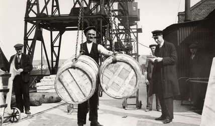 Tallying Casks: 1931