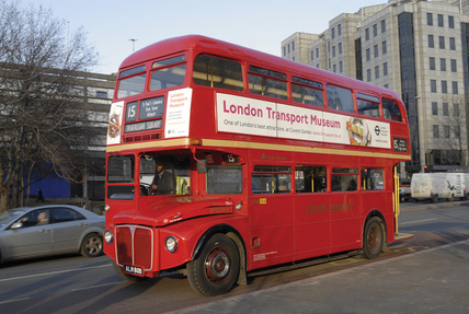 Routemaster bus; 2005