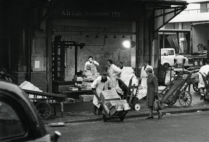 A.H. Cox Ltd Billingsgate Fish Market: c.1980