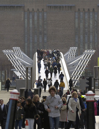 The Millennium Bridge, 2007