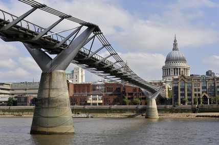 St. Paul's and The Millennium Bridge, 2007
