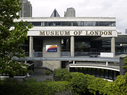 Front view of The Museum of London; 2009