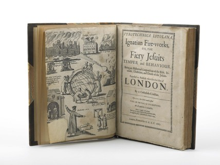 Pyrotechnica loyolana, ignatian fire-works; or, the fiery jesuits temper and behaviour: 1667