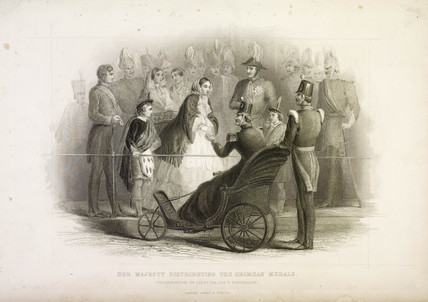 Her Majesty Distributing the Crimean Medals: 19th Century