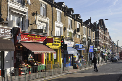 Sydenham High Street; 2009