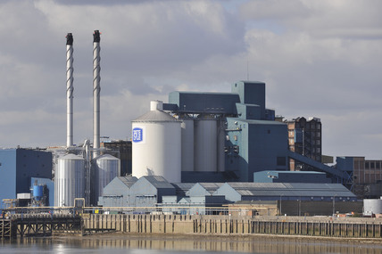 The Tate and Lyle sugar refinery; 2009