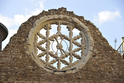 The Rose window of Winchester Palace; 2009