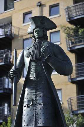 Statue of Peter the Great, Deptford; 2009
