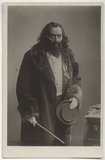Sir Herbert Beerbohm Tree as Svengali in 'Trilby'
