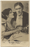 Mrs Patrick Campbell as Paula Tanqueray; Sir George Alexander (George Samson) as Mr Tanqueray in 'The Second Mrs Tanqueray'