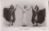 Edna May (Edna Pettie) and two little squaw girls in 'The Belle of Mayfair'