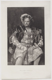 William Terriss (William Charles James Lewin) as the King in 'Henry VIII'