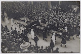 Procession of Emily Davison's funeral