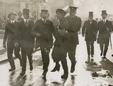 Emmeline Pankhurst's arrest at Buckingham Palace