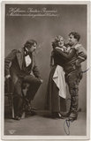 Rudolf Hofbauer, Maria Jeritza and Alfred Piccaver in 'The Girl of the Golden West'