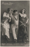 Bronis Arnowska; Guido Thielscher and Magda Almo in 'The Merry Widow'