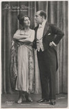 Magda Almo and Carl Grünwald in 'The Merry Widow'
