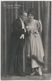 Josef Sieger and Bronis Arnowska in 'The Merry Widow'