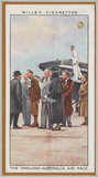 'The England-Australia Air Race' (King George V; Queen Mary and others)