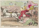 'The fall of Phaeton' (King George IV; Maria Anne Fitzherbert (née Smythe))