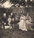 The Burne-Jones and Morris families