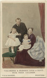 The Duke and Duchess of Hesse and by Rhine with their two eldest daughters