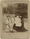 Queen Victoria with her grandchildren