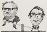 Ronnie Barker; Ronnie Corbett ('The Two Ronnies')