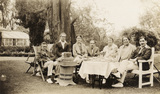 Sir Arnold Bax; Harriet Cohen; Dorothy Moulton-Mayer; Sir Robert Mayer and others