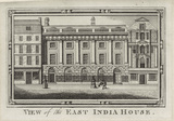 View of the East India House