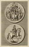 King George I portrayed on the Great Seal