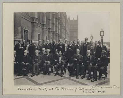 'Luncheon Party at the House of Commons'