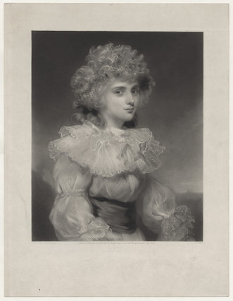 Elizabeth Christiana Cavendish (née Hervey), Duchess of Devonshire when Lady Elizabeth Foster