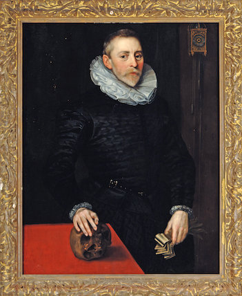 Jacob Wittewronghele, by an unknown Anglo-Netherlandish artist, c.1600-15 (Lawes Agricultural Trust) in connection with 'Elizabeth I & Her People', 10 October 2013 - 5 January 2014