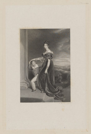 George Vane-Tempest, 5th Marquess of Londonderry when Viscount Seaham; Frances Anne Vane, Marchioness of Londonderry