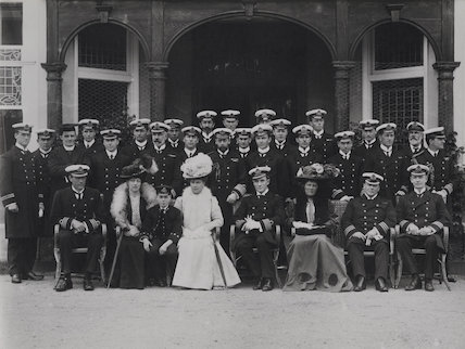 Group at the Royal Naval College