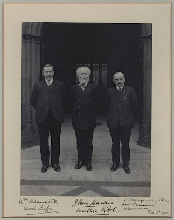 William Adamson; Keir Hardie; Thomas Richardson
