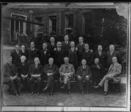 Ramsay MacDonald and his cabinet of 1924