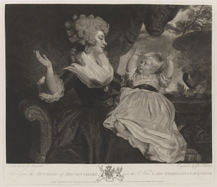 Georgiana Cavendish (née Spencer), Duchess of Devonshire; Georgiana Dorothy (née Cavendish), Countess of Carlisle