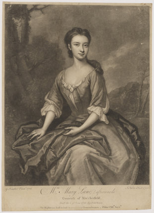 Mary Parker (née Lane), Countess of Macclesfield