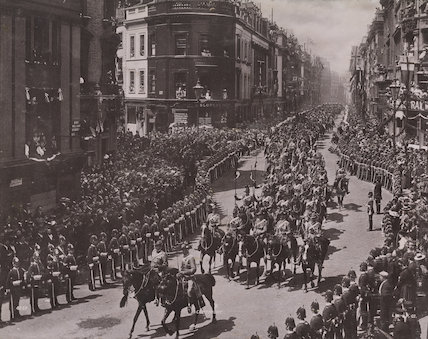 Queen Victoria's Diamond Jubilee Procession - The Colonial Contingent