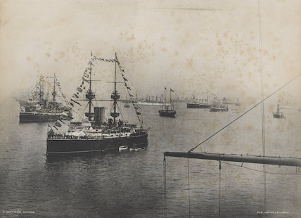 'Naval Review at Spithead'