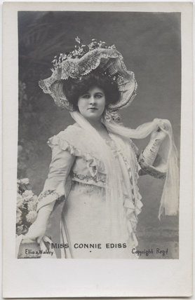 Connie Ediss (Ada Harriet Coates)
