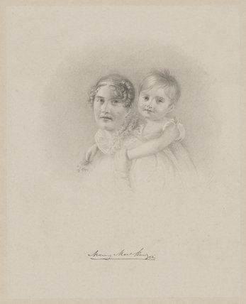 Mary Mackenzie and child