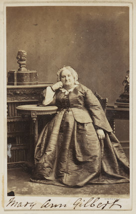 Mary Anne Gilbert (née Wintle)